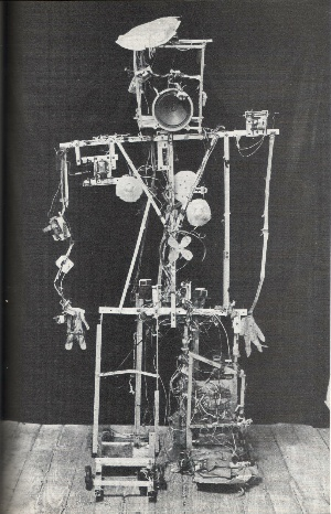 "Nam June Paik's ""Robot K"" -Schizophrenic erector set."