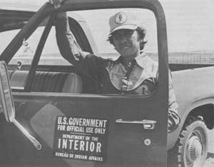 Marvin Driver, ONRED Field Inspector<br /> Photo by Nancy Gregory