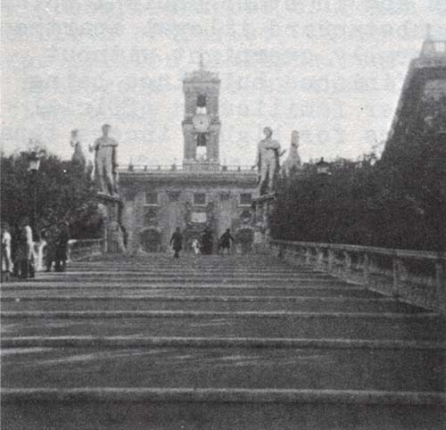 Stairs to the Campidoglio