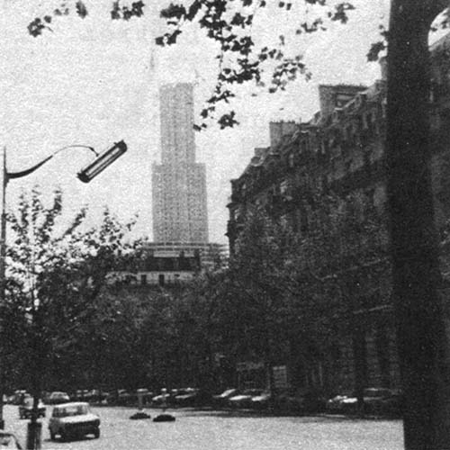 Maine-Montparnasse tower.