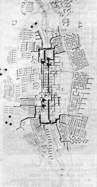 Plan of Cumbernauld