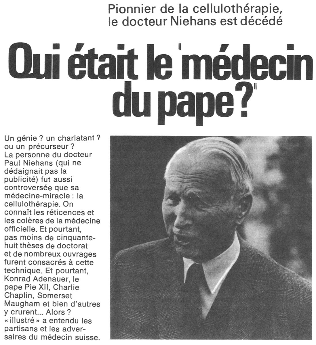 ILLUSTRÉ, September 9, 1971